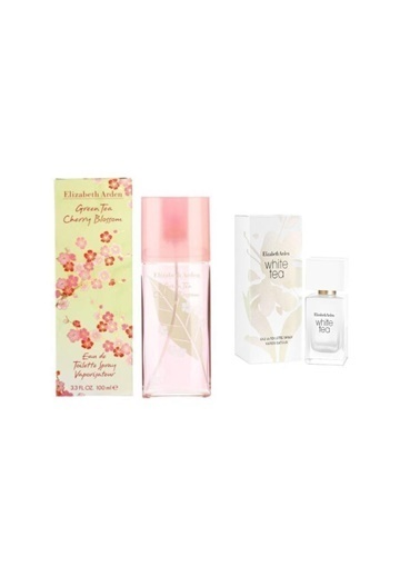 Elizabeth Arden Elizabeth Arden Green Tea Cherry  Blossom Edt 100 Ml+White Tea Edt 30 Ml Kadın Parfüm Renksiz